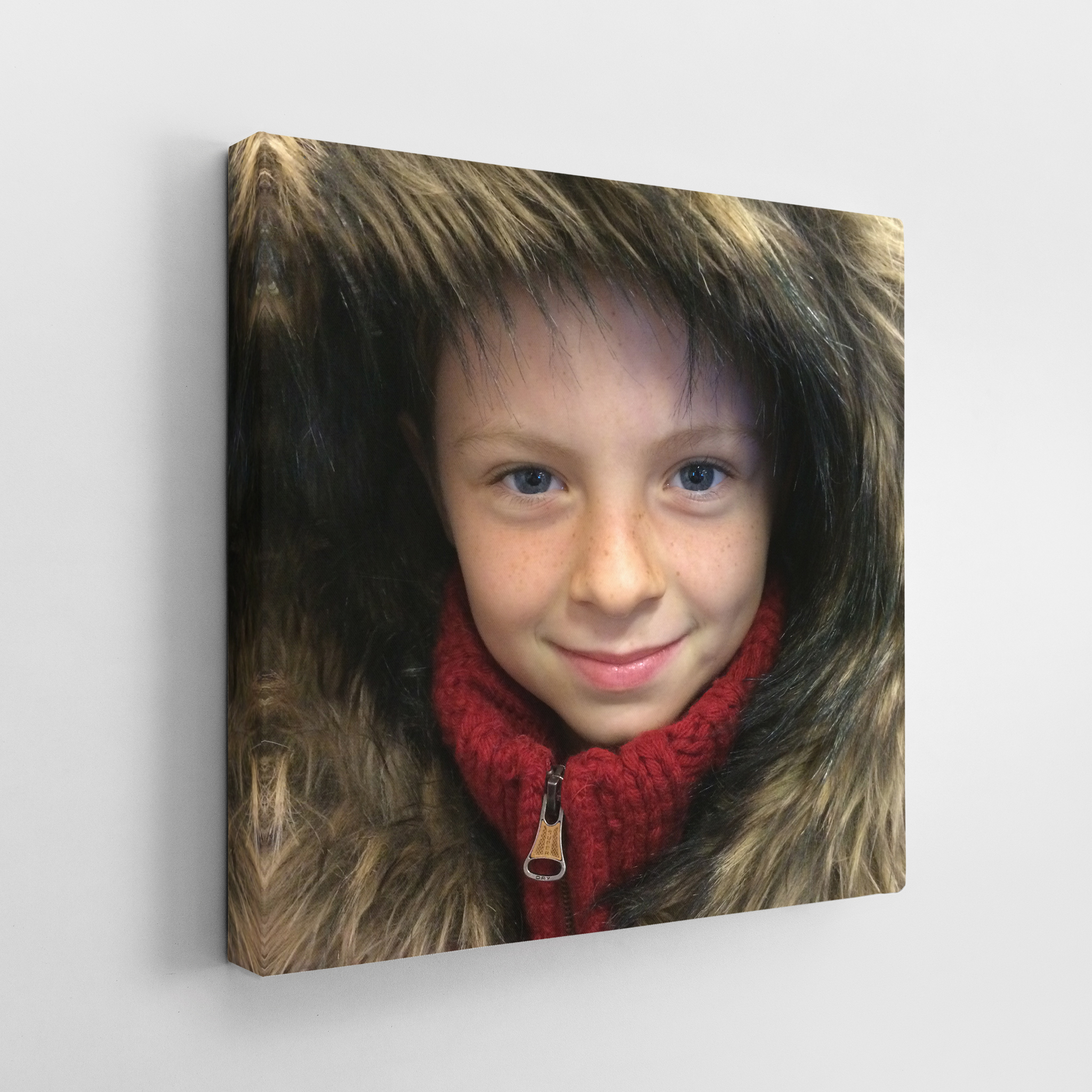 Your Photo onto Canvas Square