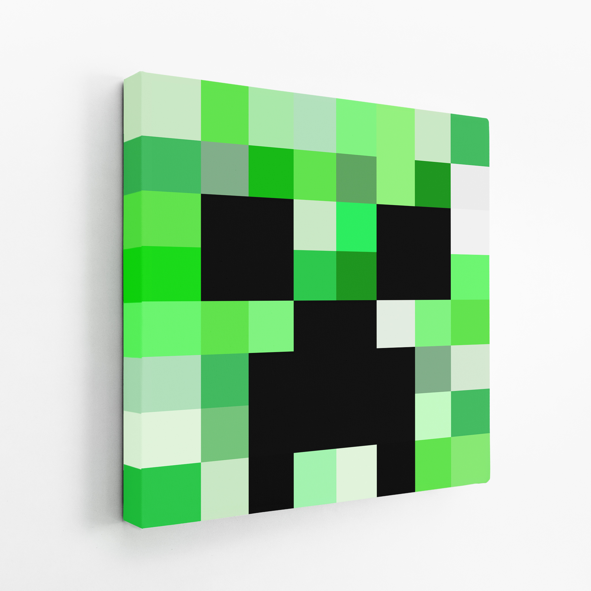 Minecraft Creeper Canvas