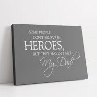 Hero Dad Canvas