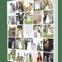 Wedding Collage + Bling