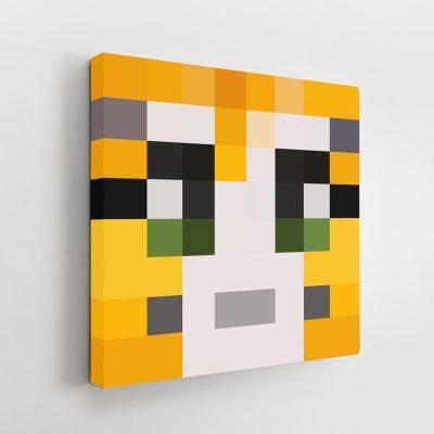 Minecraft Stampy Cat Canvas