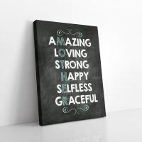 Mother Words Canvas