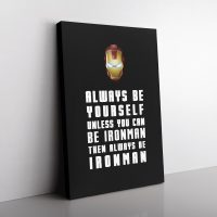 Be Ironman Canvas