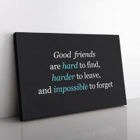 Good Friends Canvas