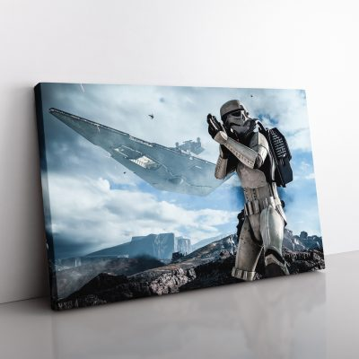 Star Wars Stoormtrooper Canvas
