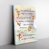 Tigger Song Canvas