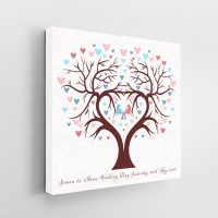 Wedding Day Signature Canvas