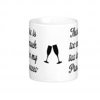 Tea in my Prosecco Mug