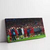 Liverpool Vs Barcelona Canvas