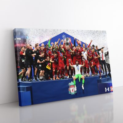 Liverpool Champions League Canvas