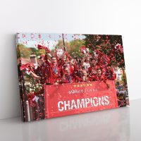 Liverpool Champions League Canvas