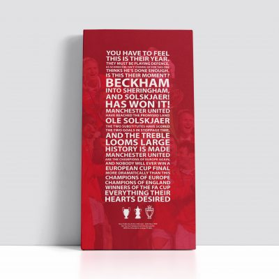 Manchester United 99 Canvas
