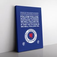 Rangers Football Club Canvas