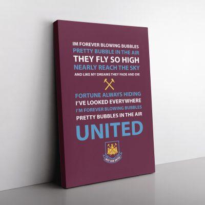 West Ham Football Club Canvas