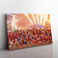 LFC Premier League Winners Canvas
