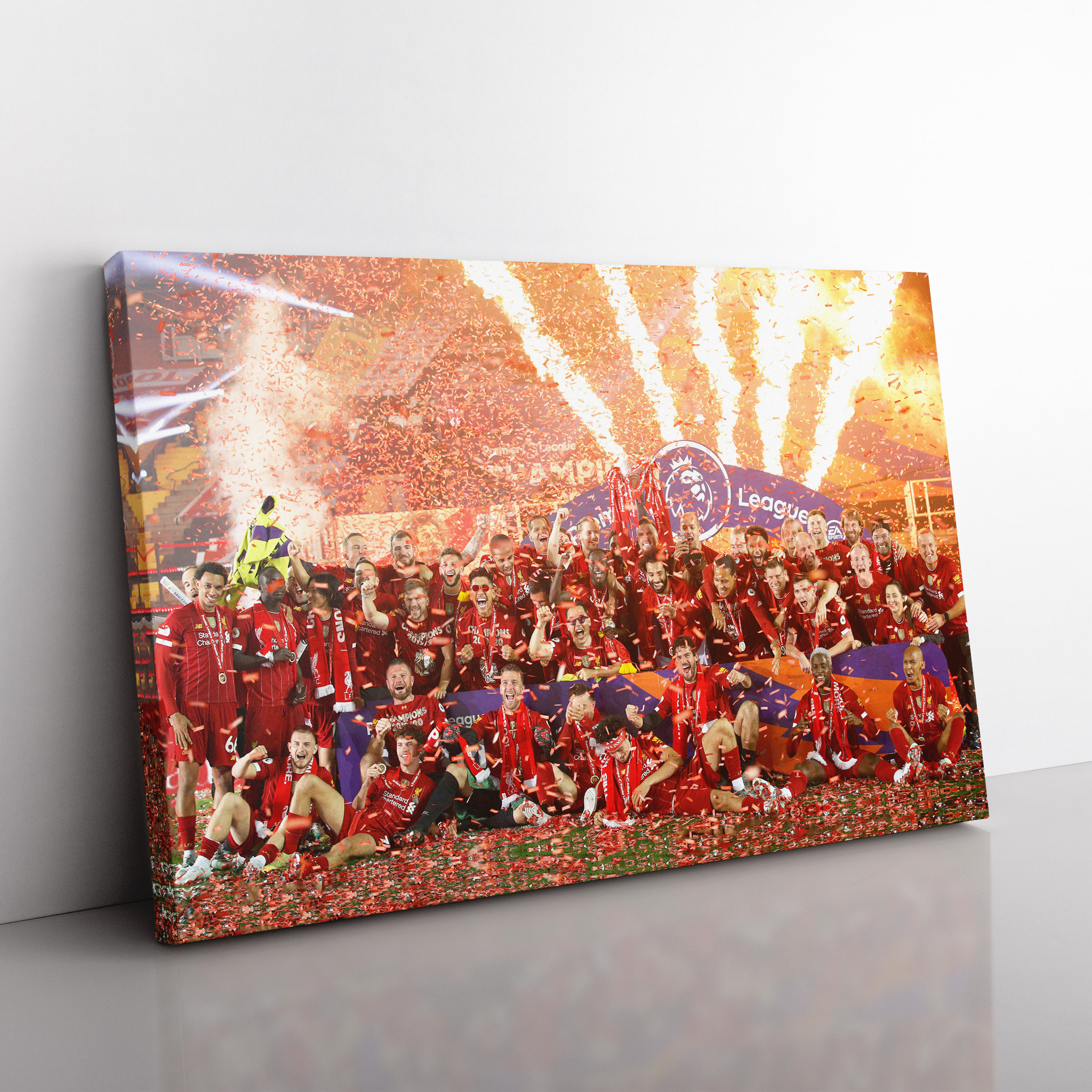 LFC Premier League Winners Canvas