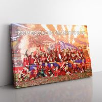 Liverpool Premier League Winners Canvas