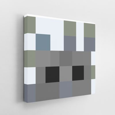Minecraft Silverfish Canvas