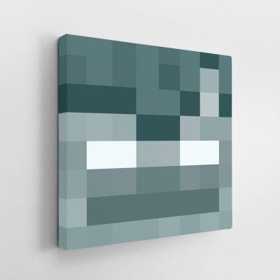 Minecraft Stray Face Canvas