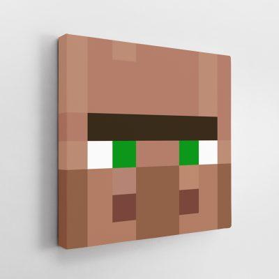 Minecraft Villager Canvas