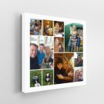 11 Image Jigsaw Collage Canvas
