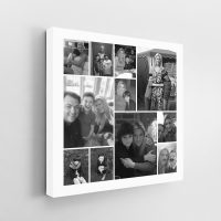 11 Image Square Jigsaw Collage Canvas