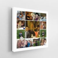 13 Image Tile Square Collage Canvas