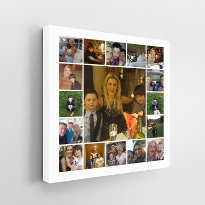 17 Image Tile Square Collage Canvas