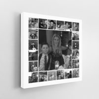 21 Image Tile Square Collage Canvas