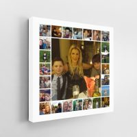 25 Image Tile Square Collage Canvas