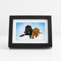 Black Oil Painting Frame