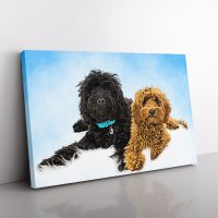 Pet Oil Painting Personalised Design - Canvas
