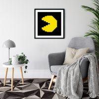 Pacman Black Frame