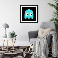 Pacman Inky Black Frame