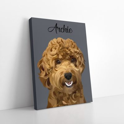 Pet Portrait Canvas