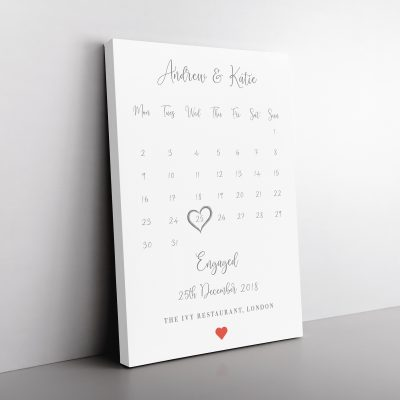 Special Event Calendar Canvas