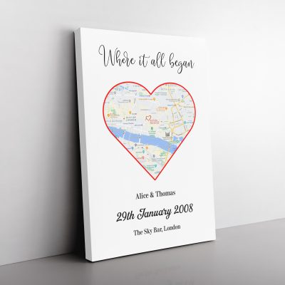 Personalised Love Map