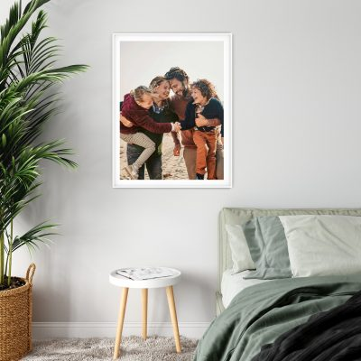 Large White Photo Frame