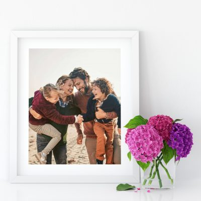 Small White Photo Frame