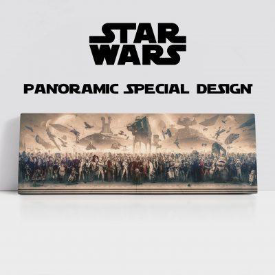 Star Wars Panoramic Canvas