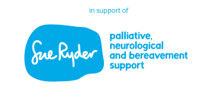 In Support of Sue Ryder Logo