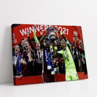 Leicester City FA Cup Winners 20/21 Canvas