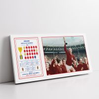 England World Cup 66 Collage Canvas